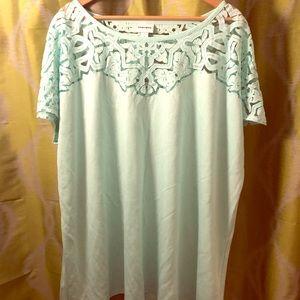 BNw/out Tag Ava & Viv 4x Mint Green Tunic T-shirt
